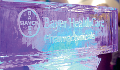 Bayer Ice Sculpture